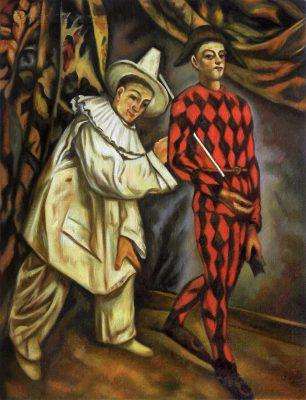 Cezanne's Mardi Gras in Bill Cannastra's loft