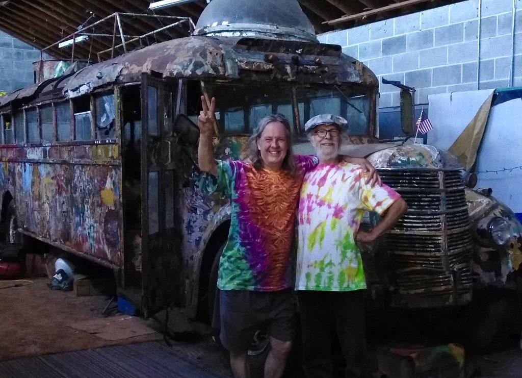 Ken Kesey's Furthur Bus