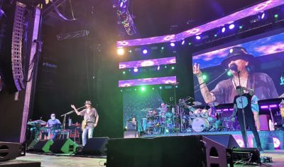 Carlos Santana at Bethel Woods Woodstock 50th anniversary