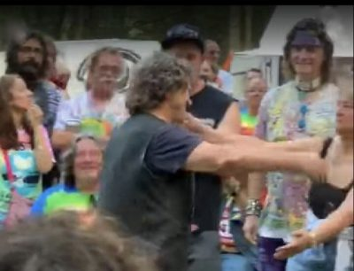 Michael Lang & Jeryl Abramson at Yasgur's Farm, Woodstock 2019